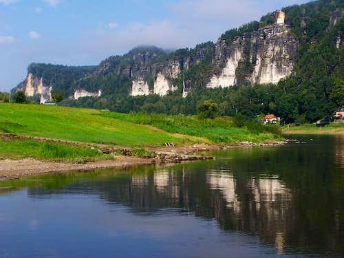 A short walk in Saxon Switzerland
