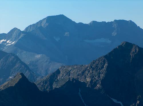 The Posets from the top of the Pic d'Estos