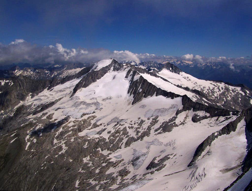 West view of Grosser Möseler
