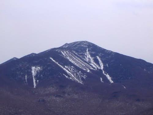 Dix Mountain from the summit...