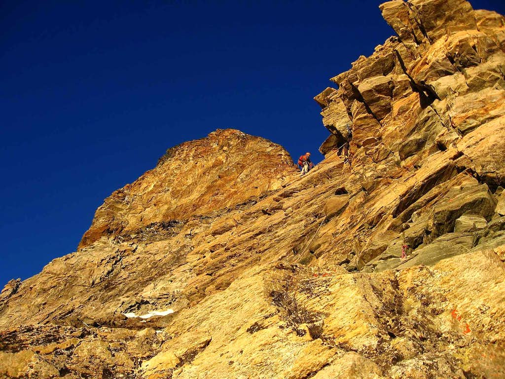 The Hornli ridge.