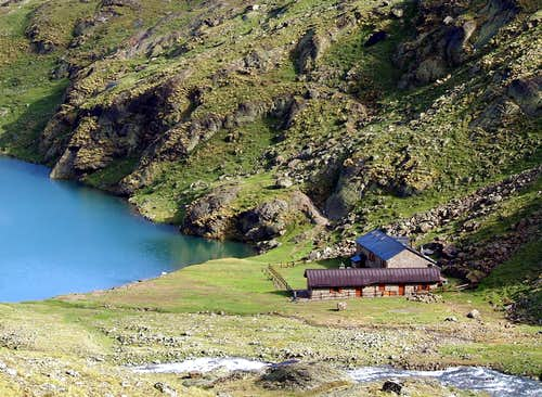 Alpine REFUGES in the Aosta Valley  (Central Valley)
