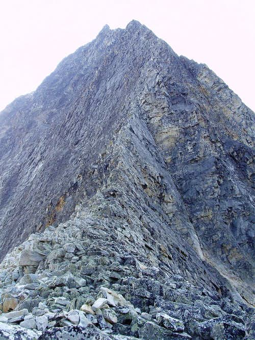 Northwest Ridge of Mount Sir Donald