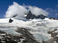 Dachstein and the Hallstaedter glacier