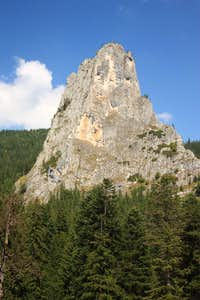Altar Rock in Bicaz