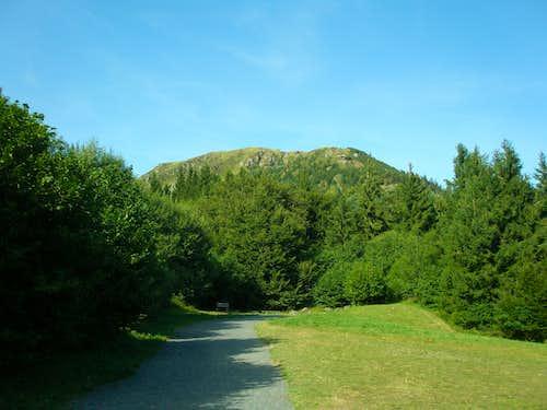 South face of Puy de Dôme