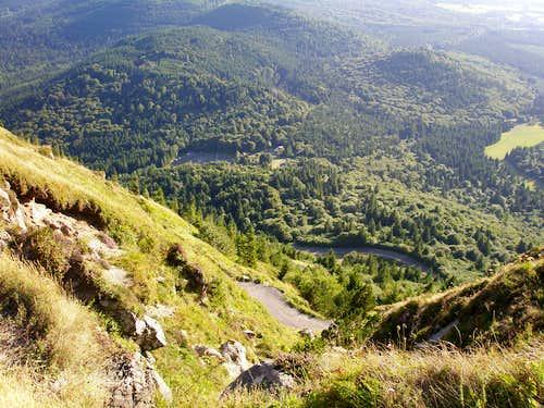 Chemin des Muletiers and Col de Ceyssat