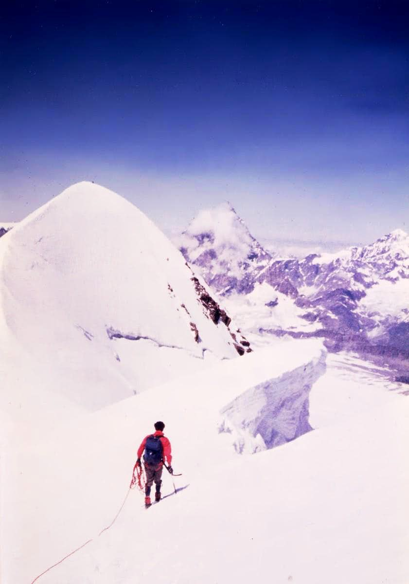 From Central to Western Breithorn 1980