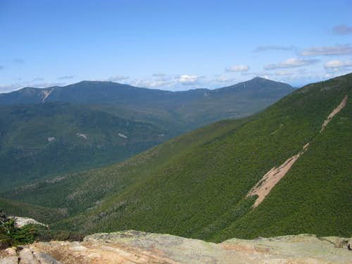 View of many mountains from Bondcliff