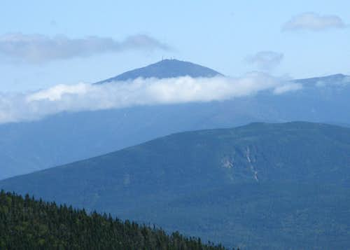 Mt. Washington viewed from Bondcliff