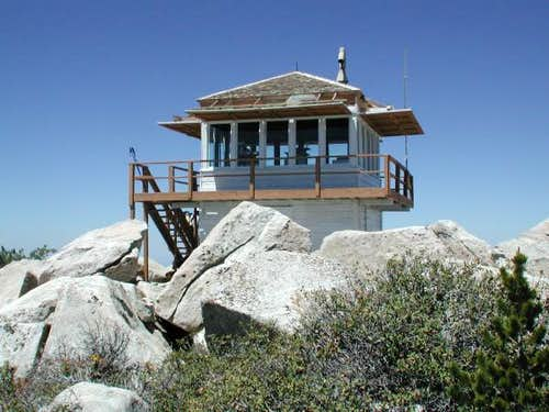 Historic Fire Lookout Tower...