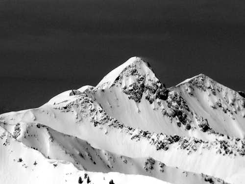 BW of the Pfeifferhorn