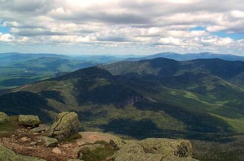 From Mt. Lafayette looking...