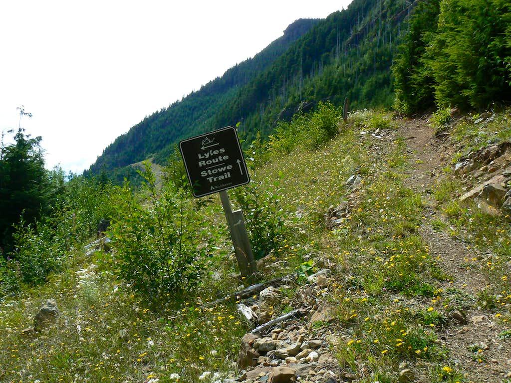 Bills/Lyles Trails Junction