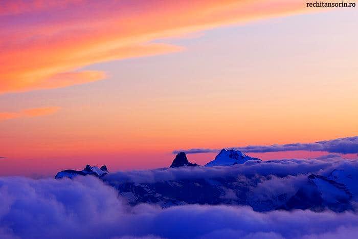 Caucasus Sunset