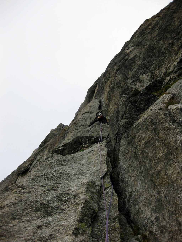 Climbing the Niedermann