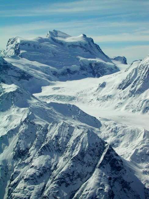 Grand Combin with the Glacier...