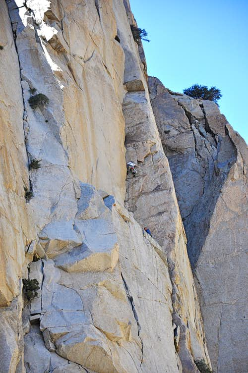 Kevin on the second pitch of Rites of Spring