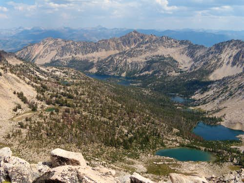 Upper lake basin