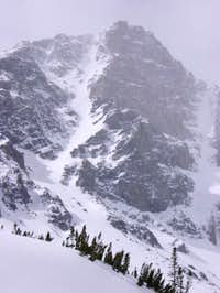 The Whitetail Couloir from...
