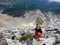 Yunona near Wheeler Peak Nevada age 5