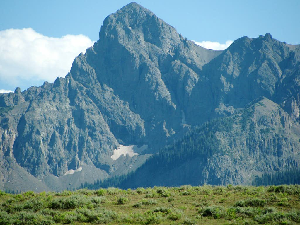 Sneffels Range Peak