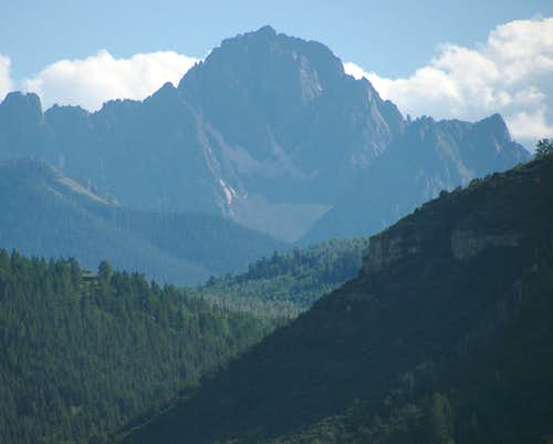 Mount Sneffels northeast aspect