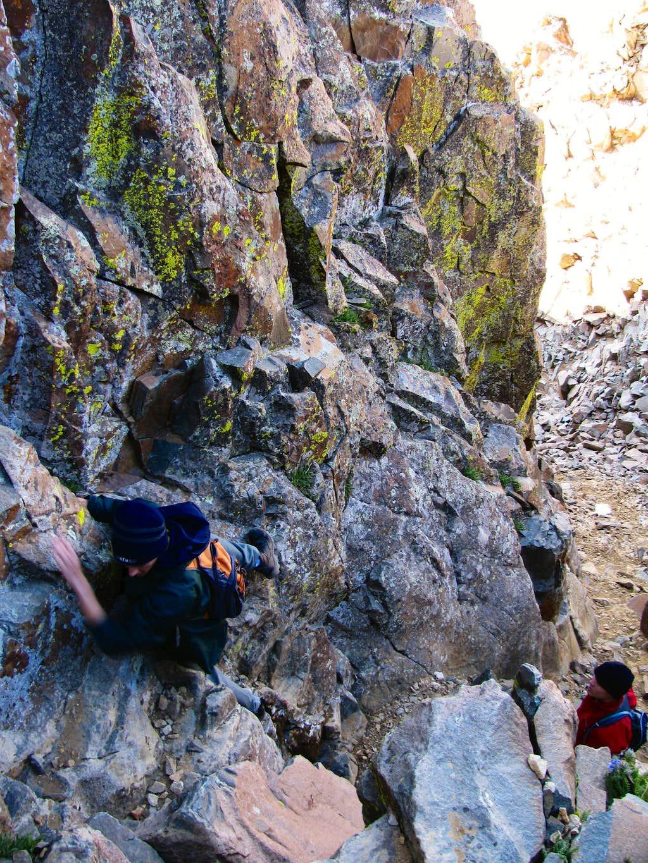 Southwest Ridge Crux