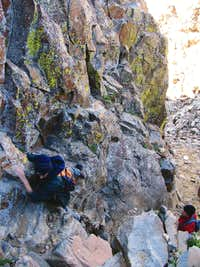 Southwest Ridge Crux