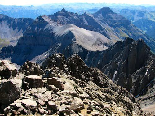 Mountains east of Sneffels