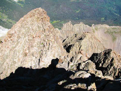 Sneffels west ridge