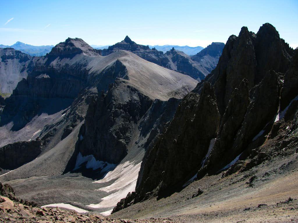 Mount Sneffels east saddle