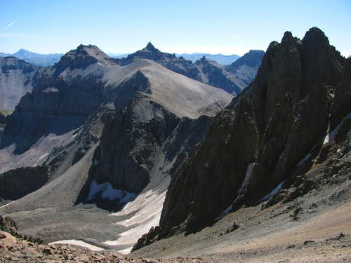 Mount Sneffels east saddle
