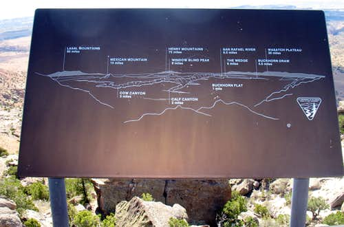 Overlook information display