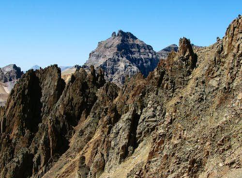 Dallas Peak from Lavender Col