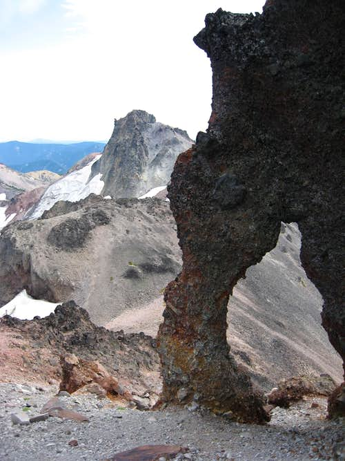 Ives Peak and Old Snowy\'s Arch