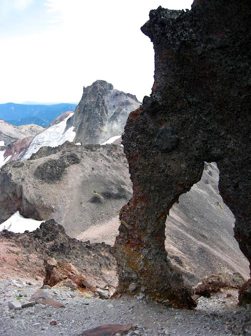 Ives Peak and Old Snowy's Arch
