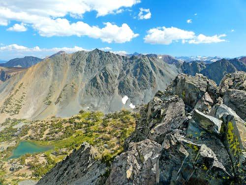 Black Mtn. from Peak 11,568'