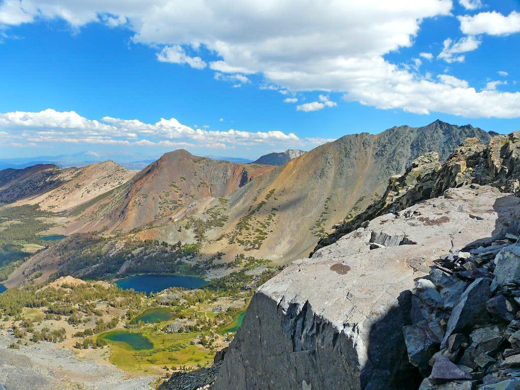 Southeast from Peak 11,568'