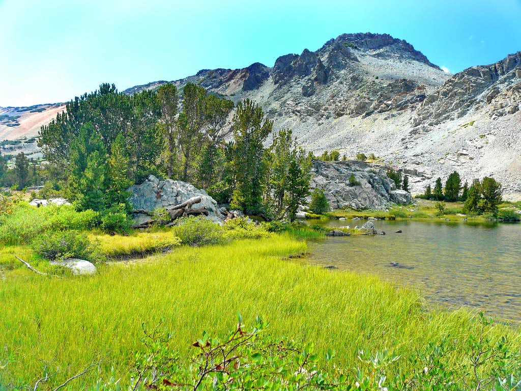 Peak 11,568' from Frog Lakes