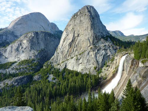 Liberty Cap & Nevada Falls