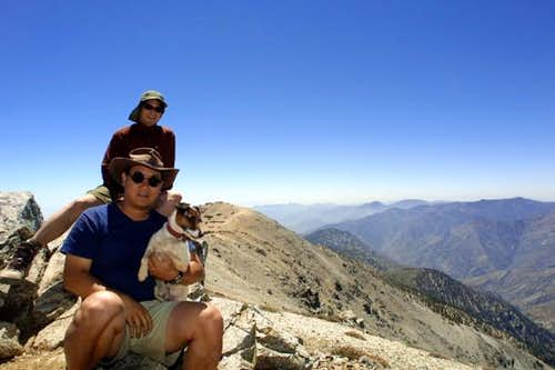 Baldy Summit - June 15, 2002