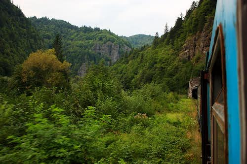 Into the tunnel - Mures valley