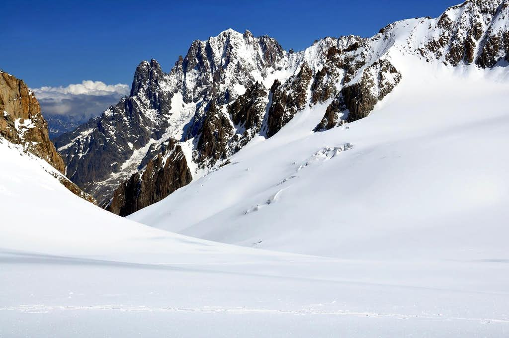 Mountain Area Mont Blanc - in memory of Rahel