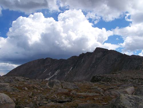 Clouds over Mt. Evans