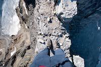 Exposed Summit Ridge, Mt. Sarbach
