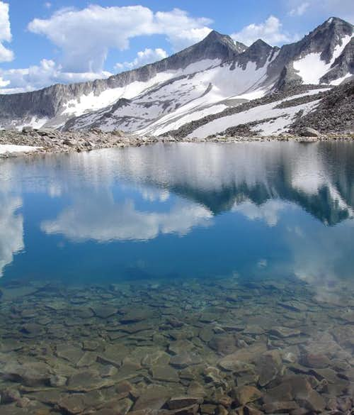 Pierre Lakes Basin, North Snowmass Mountain