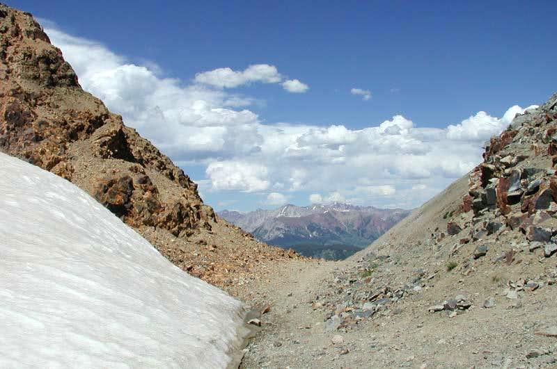 Gunsight Pass Route