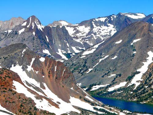 Peaks above Summit Lake