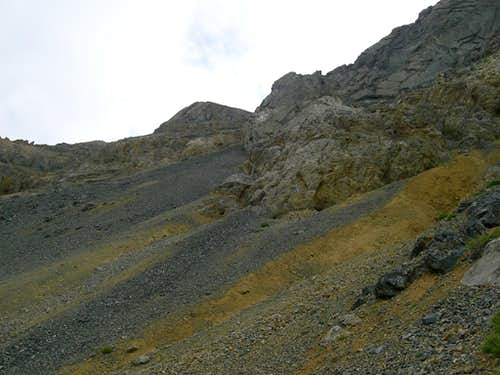 Nasty Scree Slope